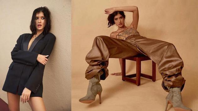 Shanaya Kapoor has done has a new photo shoot.