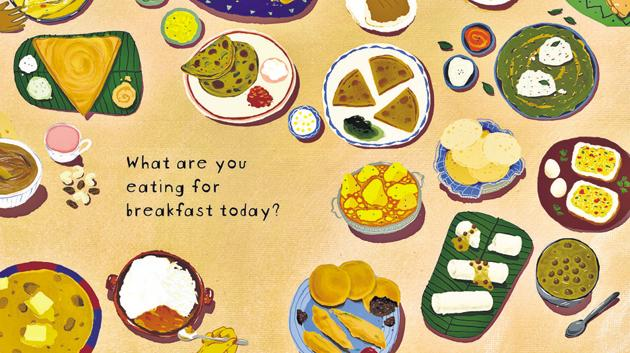 Breakfasts of India by Kutuki Publishers introduces the child reader to cuisine from across the country.