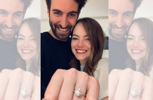 Dave McCary and Emma Stone(Instagram)