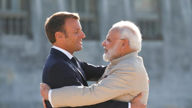 President Emmanuel Macron's wishes to further strengthen the relationship of trust and friendship with India.(REUTERS)