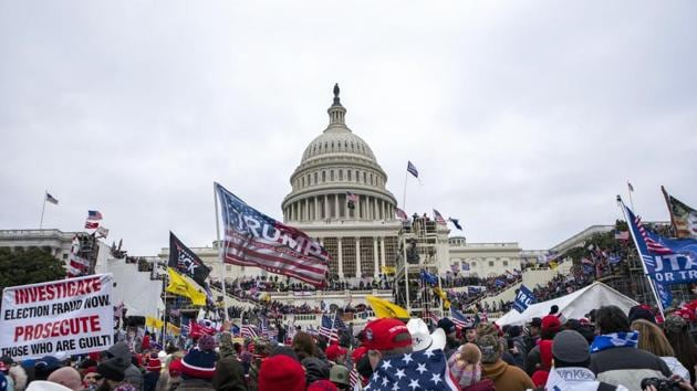 What other, newer democracies find relatively easy — conducting an election, the counting of votes, the peaceful transition of power — seems to have befuddled the US. There can be and must not be any normalisation of gross prejudice or violence(AP)