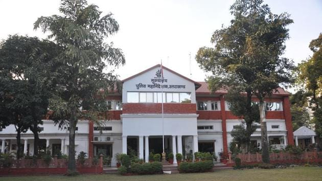 Uttarakhand Police headquarters in Dehradun.(HT file)