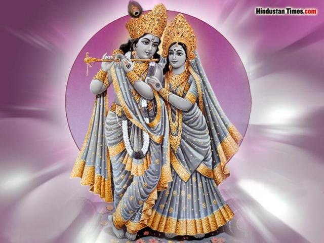 Holy wall art,Radha and Krishna,Lifestyle