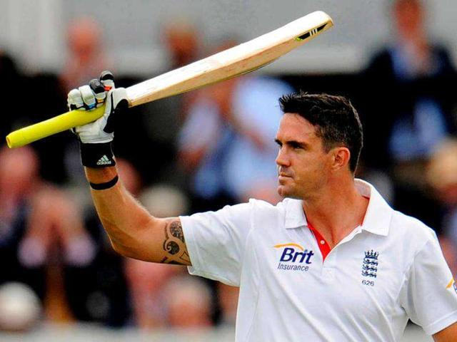 Kevin-Pietersen-celebrates-after-reaching-his-century-during-the-first-Test-cricket-match-against-India-at-Lord-s-cricket-ground-in-London