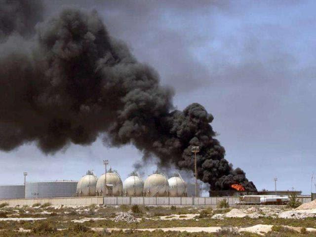 Militant attack,libyan oilfield,islamist militants