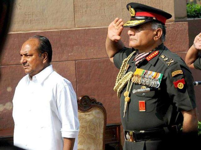 Army Chief,news,hindustan times