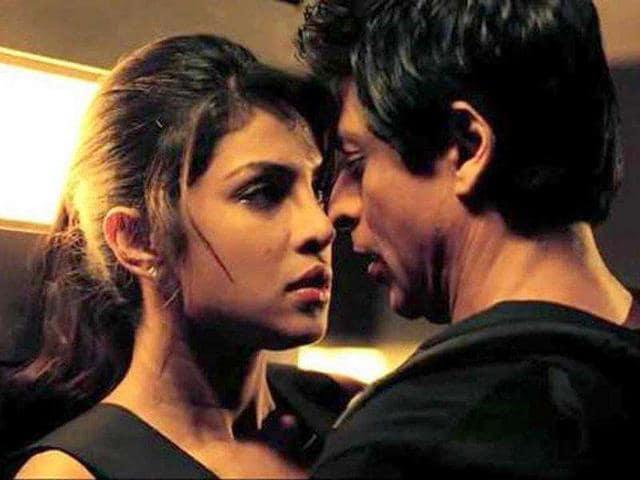 Shah Rukh Khan,Priyanka Chopra,Jungli Billi