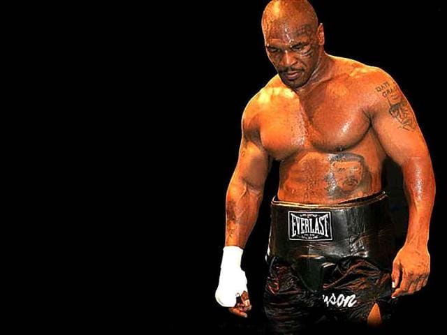 Mike-Tyson-is-known-for-his-ferocious-and-intimidating-boxing-style