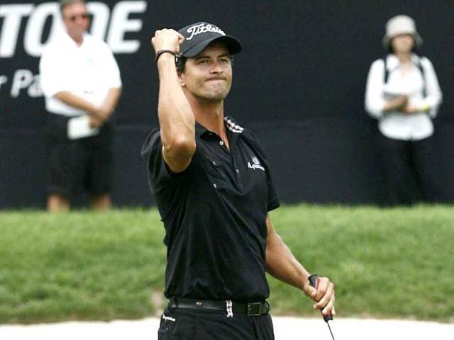 Adam Scott,Golf Masters,Angel Cabrera