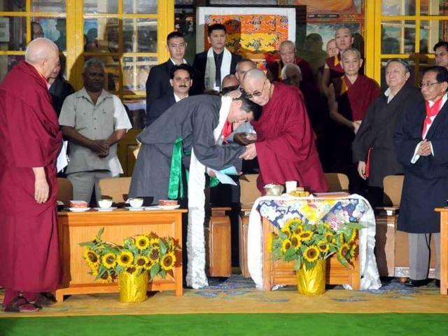 Tibetan,prime minister-in-exile,Lobsang Sangay
