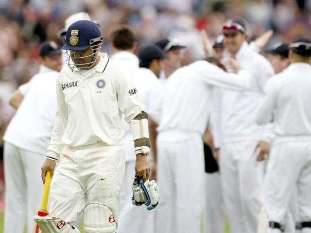 Virender-Sehwag-left-walks-off-after-being-dismissed-without-scoring-on-the-third-day-of-the-third-Test-match-against-England-at-the-Edgbaston-Cricket-Ground-Birmingham