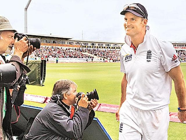 A-jubilant-Andrew-Strauss-walks-back-to-the-dressing-room-at-the-revamped-Edgbaston-cricket-ground