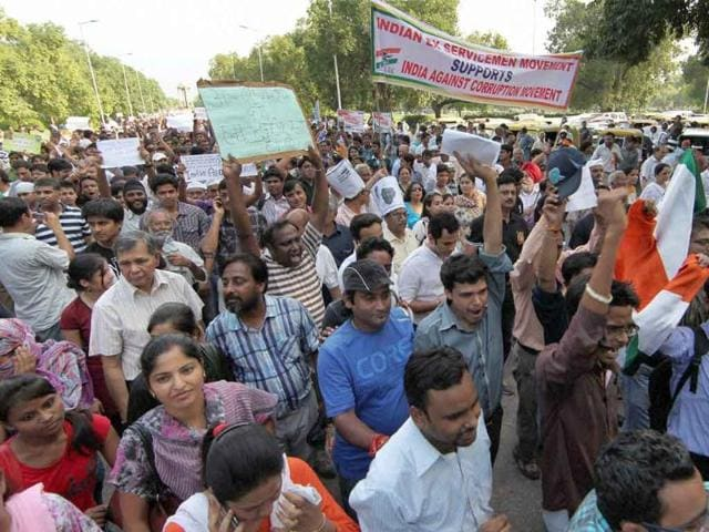 People-take-part-in-a-protest-march-against-corruption-from-India-Gate-to-Jantar-Mantar-in-New-Delhi