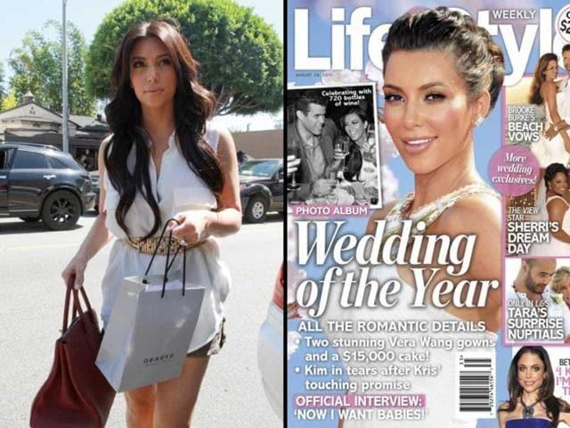 Hindustan Times Kim Kardashian Kris Humphries