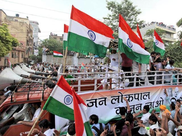 Anna Hazare,Ramlila maidan,lokpal bill