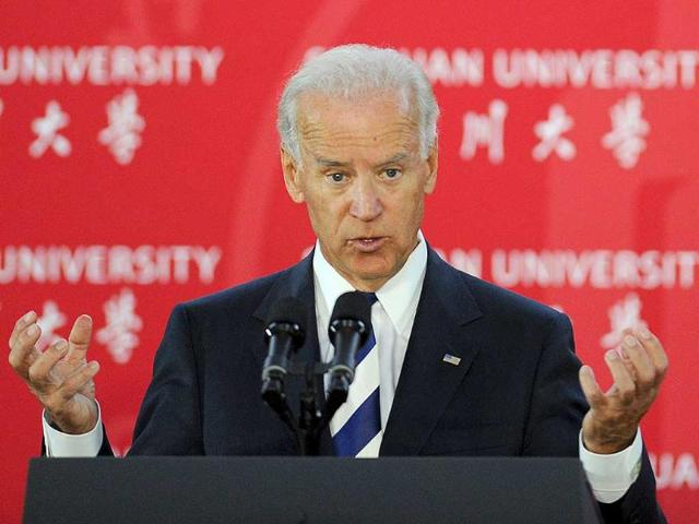 US-Vice-President-Joe-Biden-speaks-to-students-at-Sichuan-University-in-Chengdu-Biden-is-in-the-southwest-manufacturing-hub-after-talks-in-Beijing-during-which-leaders-of-the-world-s-second-largest-economy-expressed-confidence-in-the-ability-of-the-US-to-overcome-its-present-fiscal-difficulties