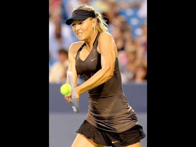 Maria Sharapova,Cincinnati Open,Vera Zvonareva