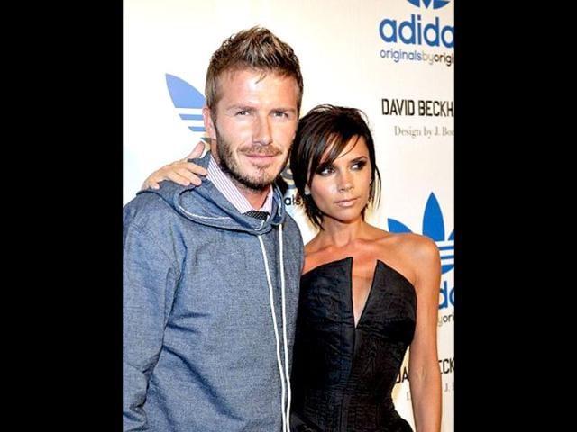 David,Victoria Beckham,Eldest son Brooklyn