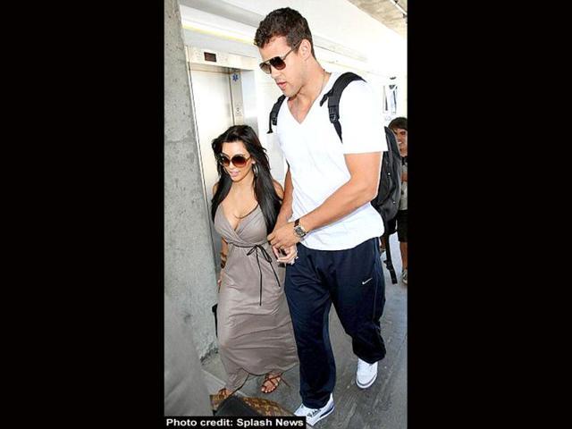 Kim Kardashian,Kris Humphries,Kanye West