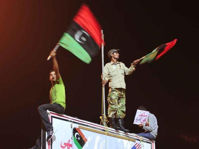 Libya,Internet shutdown,street protests