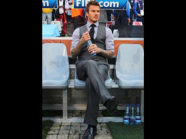 David Robert Joseph Beckham, 36, went from top man at Manchester United to midfielder at Los Angeles Galaxy in Major League Soccer. His sultry, goodlooks found him a spot at No. 3.