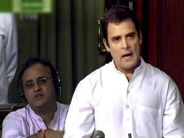 Rahul for stronger lokpal,but not by Anna's way,New Delhi