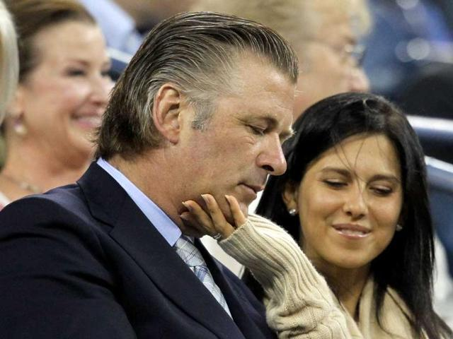 Alec-Baldwin-L-and-Hilaria-Thomas-attend-the-opening-ceremony-during-Day-One-of-the-2011-US-Open-at-the-USTA-Billie-Jean-King-National-Tennis-Center-in-the-Flushing-neighborhood-of-the-Queens-borough-of-New-York-City