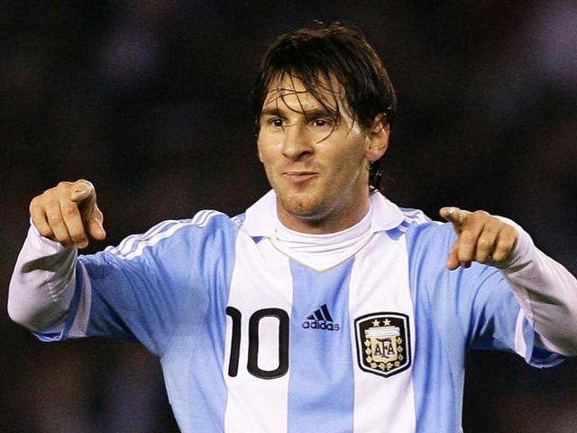 Lionel messi,Argentina's vs Venezuela,Yuva Bharati Krirangan