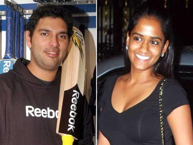 Cricketer-Yuvraj-Singh-and-Salman-Khan-s-younger-sister-Arpita