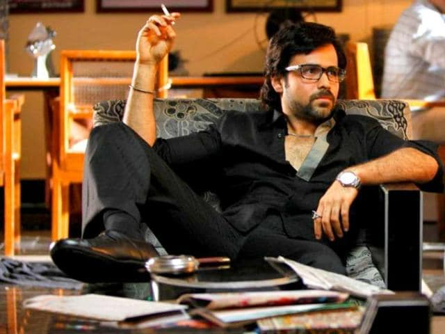 Emraan Hashmi smoking in a still from The Dirty Picture