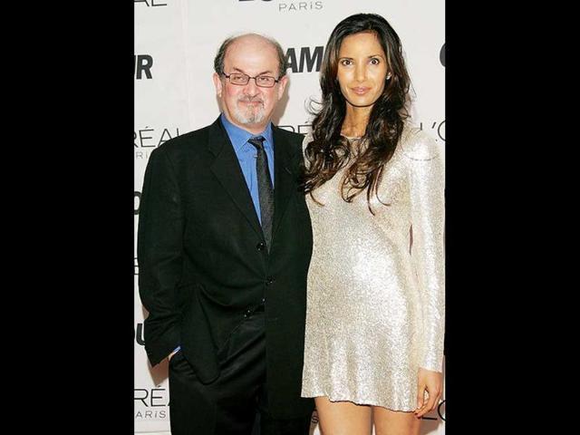 Salman Rushdie,Padma Lakshmi,broken