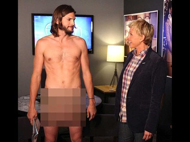 charlie sheen,two and a half men,a shton kutcher nude