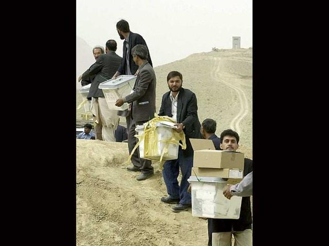 There's a palpable sense of change ahead of Afghan elections