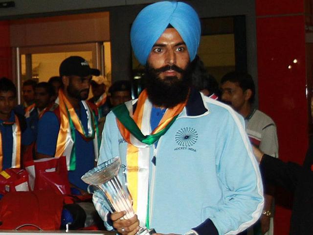 Rajpal singh,india,hockey