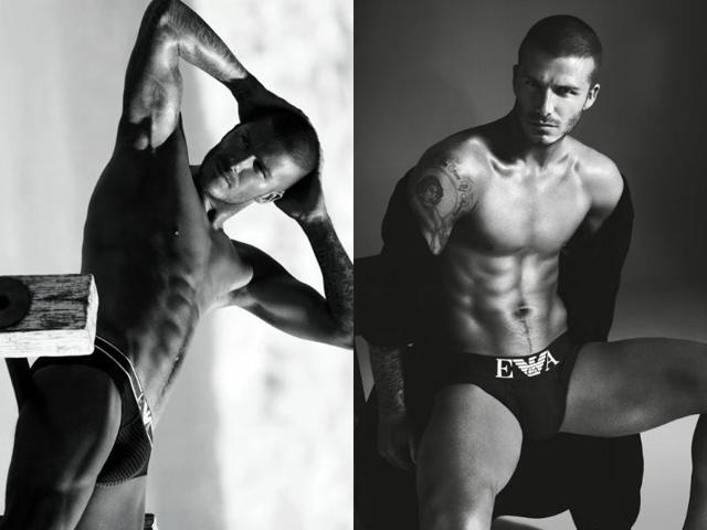 David Beckham,Tommy Hilfiger,underwear model
