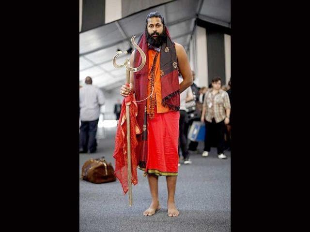 New York fashion week,Indian yogi,Sri Kumare