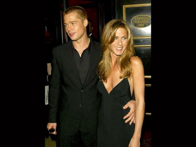 Brad-Pitt-met-Friends-actor-Jennifer-Aniston-in-1998-and-married-her-in-a-private-wedding-ceremony-in-Malibu-on-July-29-2000-Touted-to-be-the-hottest-couple-in-Hollywood-the-two-seperated-5-years-later