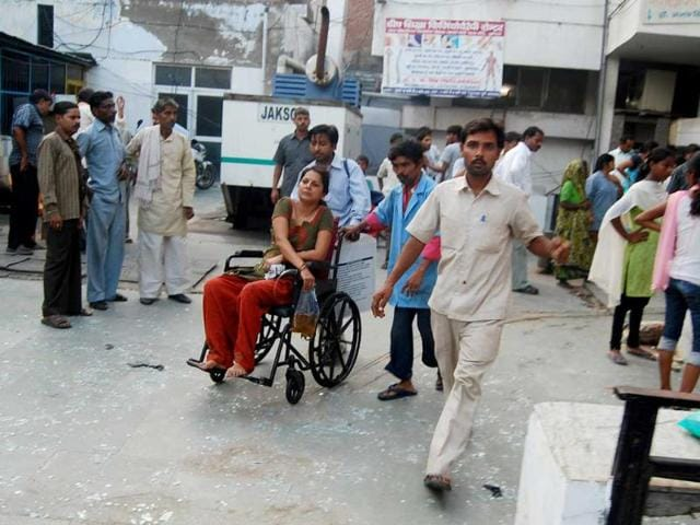 agra blast,Brij Lal,UP's top police official