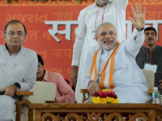 Narendra-Modi-completes-10-years-of-power-in-Gujarat