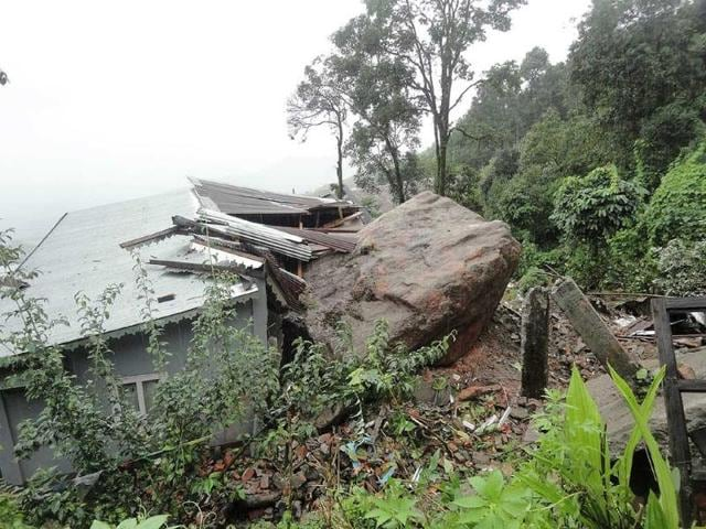 A-huge-boulder-crushes-a-house-in-Kurseong-after-the-quake-Pix-by-Suman-Baraily