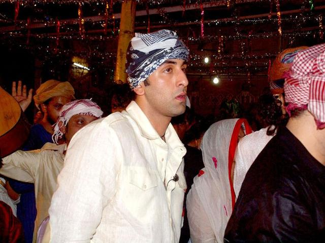 Hazrat Nizamuddin dargah,Rockstar,Ranbir Kapoor