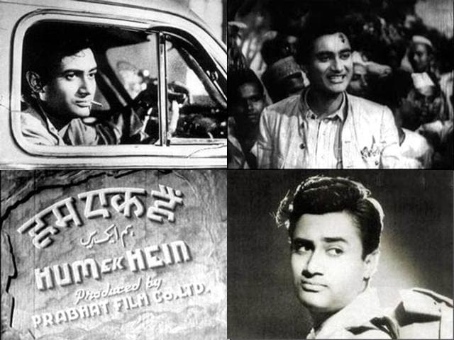 Dev Anand started his career with Hum Ek Hain.