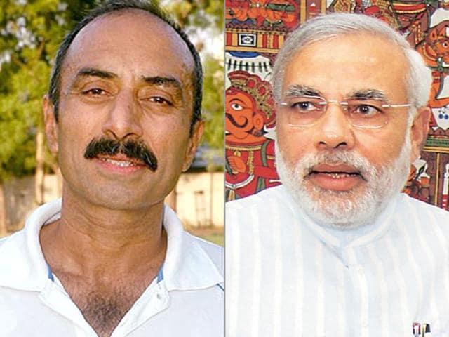 Sanjeev Bhatt writes open letter to Narendra Modi