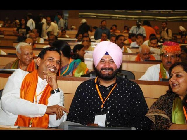 Navjot Singh Siddhu,Hindustan Times,Television