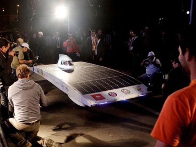Australian solar car