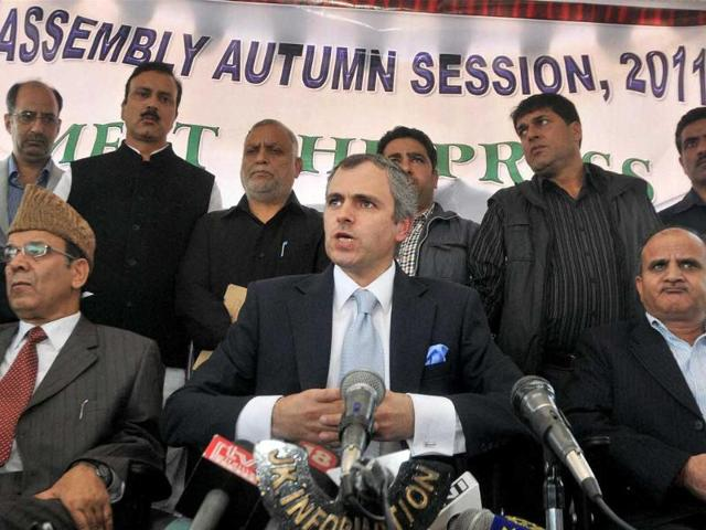 Jammu-and-Kashmir-chief-minister-Omar-Abdullah-addresses-a-press-conference-in-Srinagar
