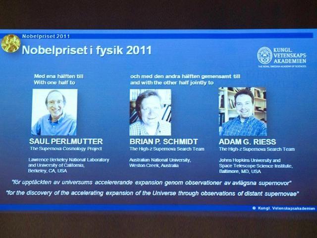 Saul Perlmutter,nobel prize,Adam Riess
