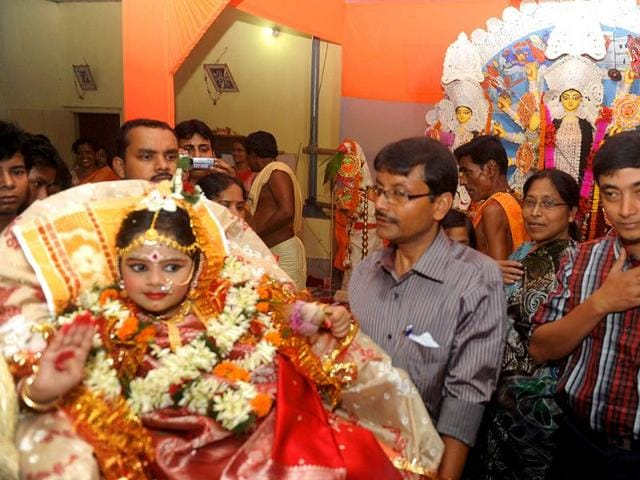 Durga Puja,female foeticide,crimes against women