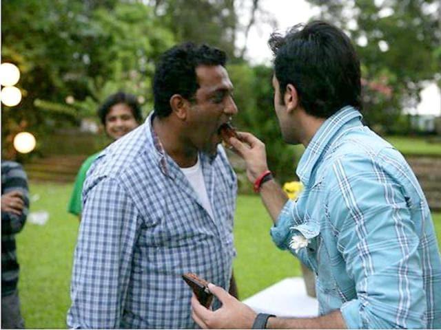 Ranbir-with-Barfee-director-Anurag-Basu