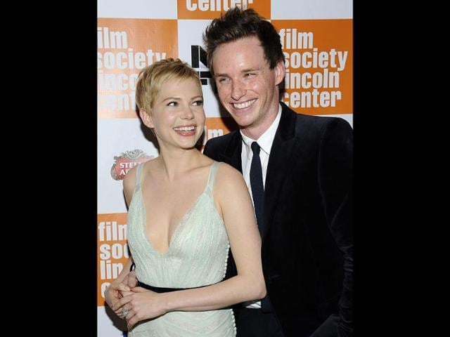 Actors-Michelle-Williams-left-and-Eddie-Redmayne-attend-the-premiere-of-My-Week-With-Marilyn-during-the-49th-Annual-New-York-Film-Festival-at-Alice-Tully-Hall-in-New-York